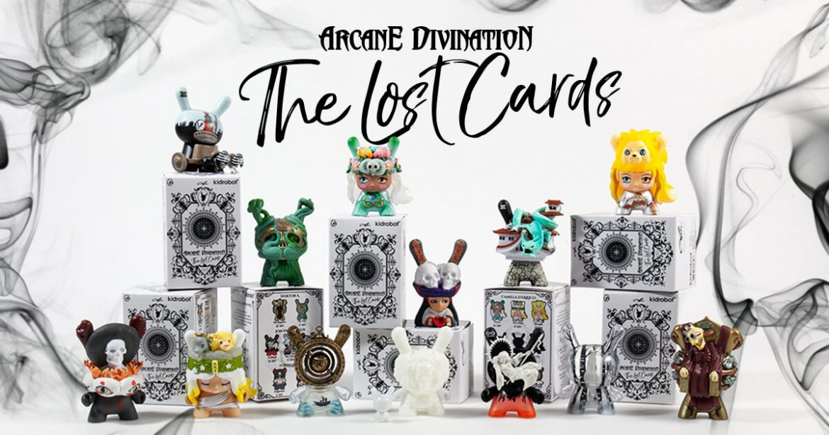 Kidrobot ARCANE DIVINATION Lost Cards Dunny Series 2 STRENGTH Camilla d/'Errico