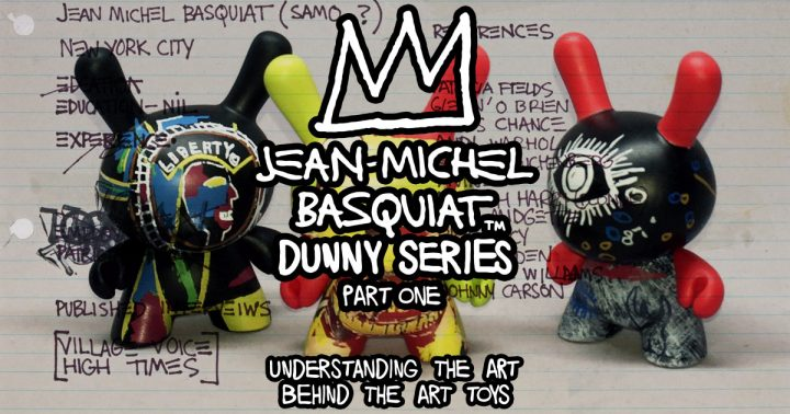 Jean-Michel Basquiat Dunny Series, Part One