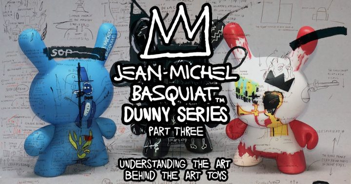 Jean-Michel Basquiat Dunny Series, Part Three
