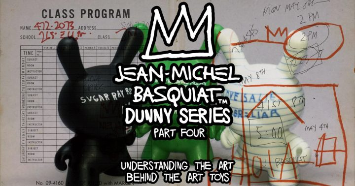 Jean-Michel Basquiat Dunny Series, Part Four