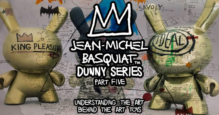 Jean-Michel Basquiat Dunny Series, Part Five