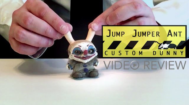 Jump Jumper Ant's Custom Dunny Art