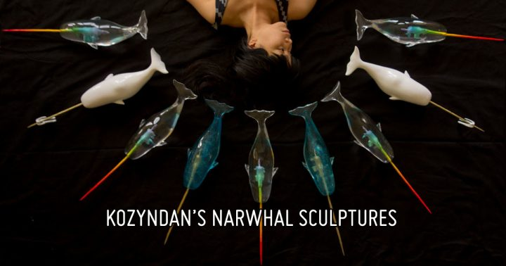 Kozyndan's Narwhal Sculpture Series