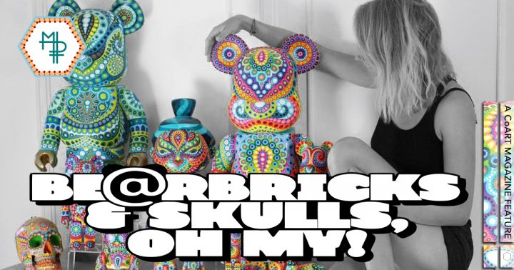 MP Gautheron : Bearbricks & Skulls, Oh My!