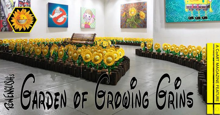 Ron English's Garden of Growing Grins