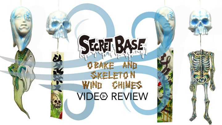 Secret Base's Obake & Skeleton Wind Chimes