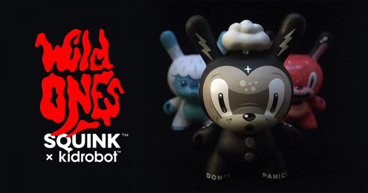 Squink's Trio of Wild Ones Dunnys
