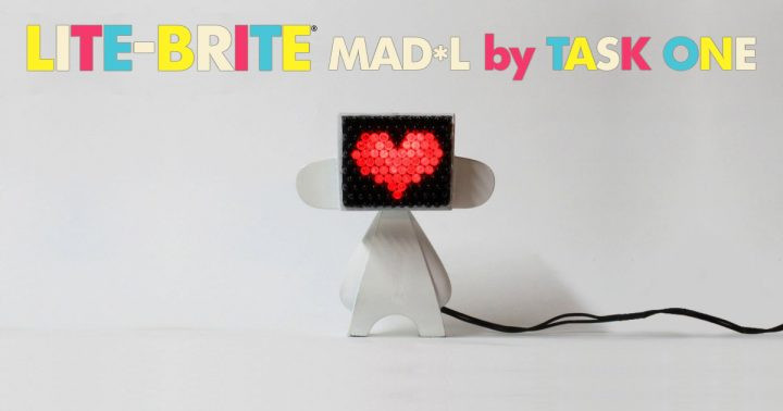 Task One's Lite-Brite MAD*L Series